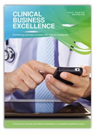 Damon Lightley featued in Clinical Business Excellence