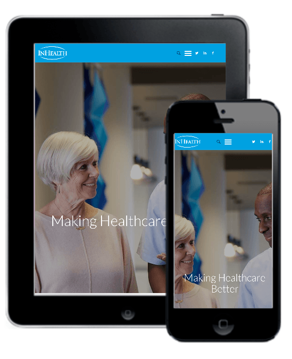 InHealth responsive website