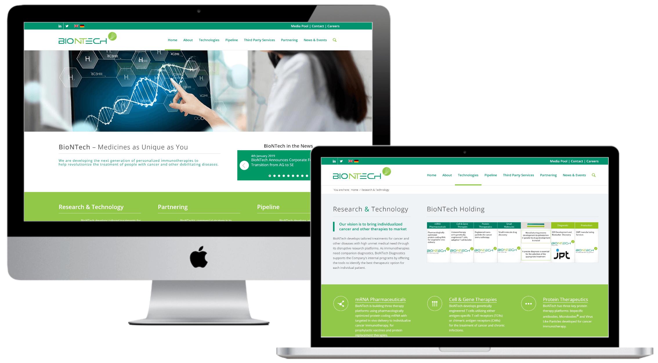 Case Study Website Design For Bio Pharma Cancer Bio Tech Company