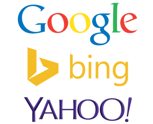 Google-Yahoo-Bing Logos