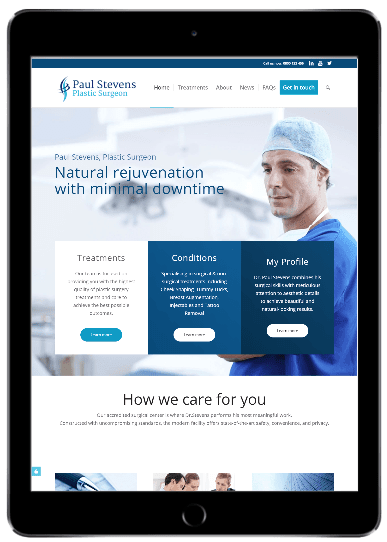 Demo website for doctor
